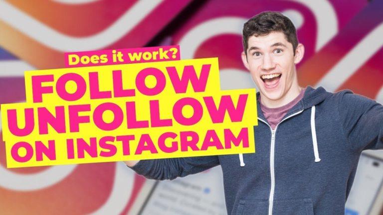 Follow unfollow instagram