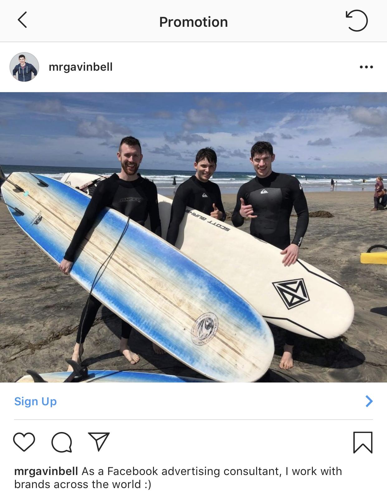 create instagram ad