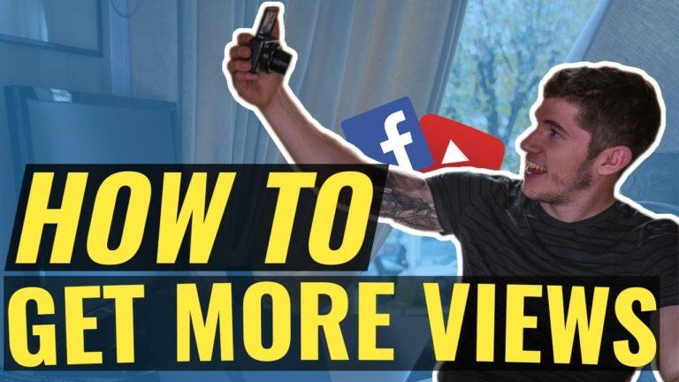Get more Facebook video views