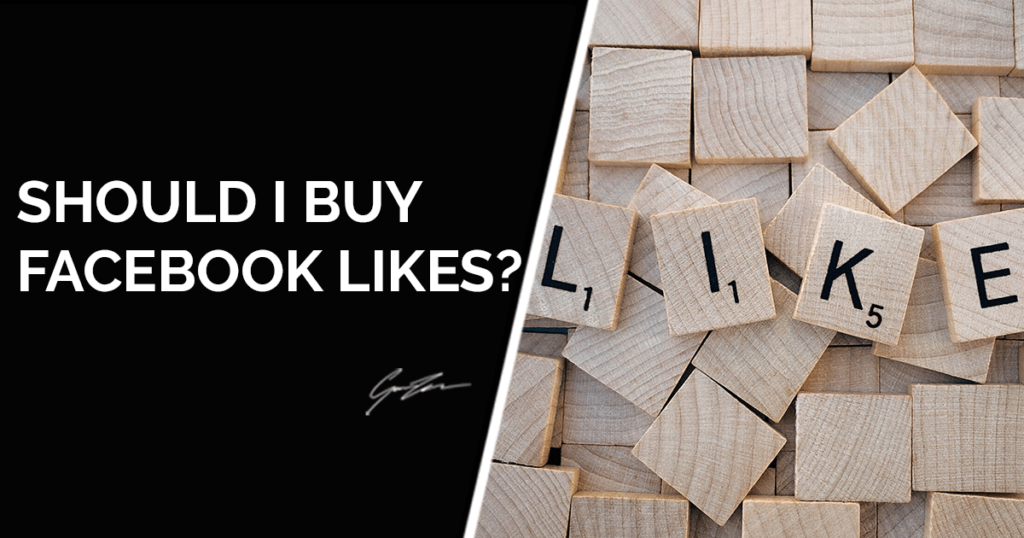 Should I buy Facebook page likes?