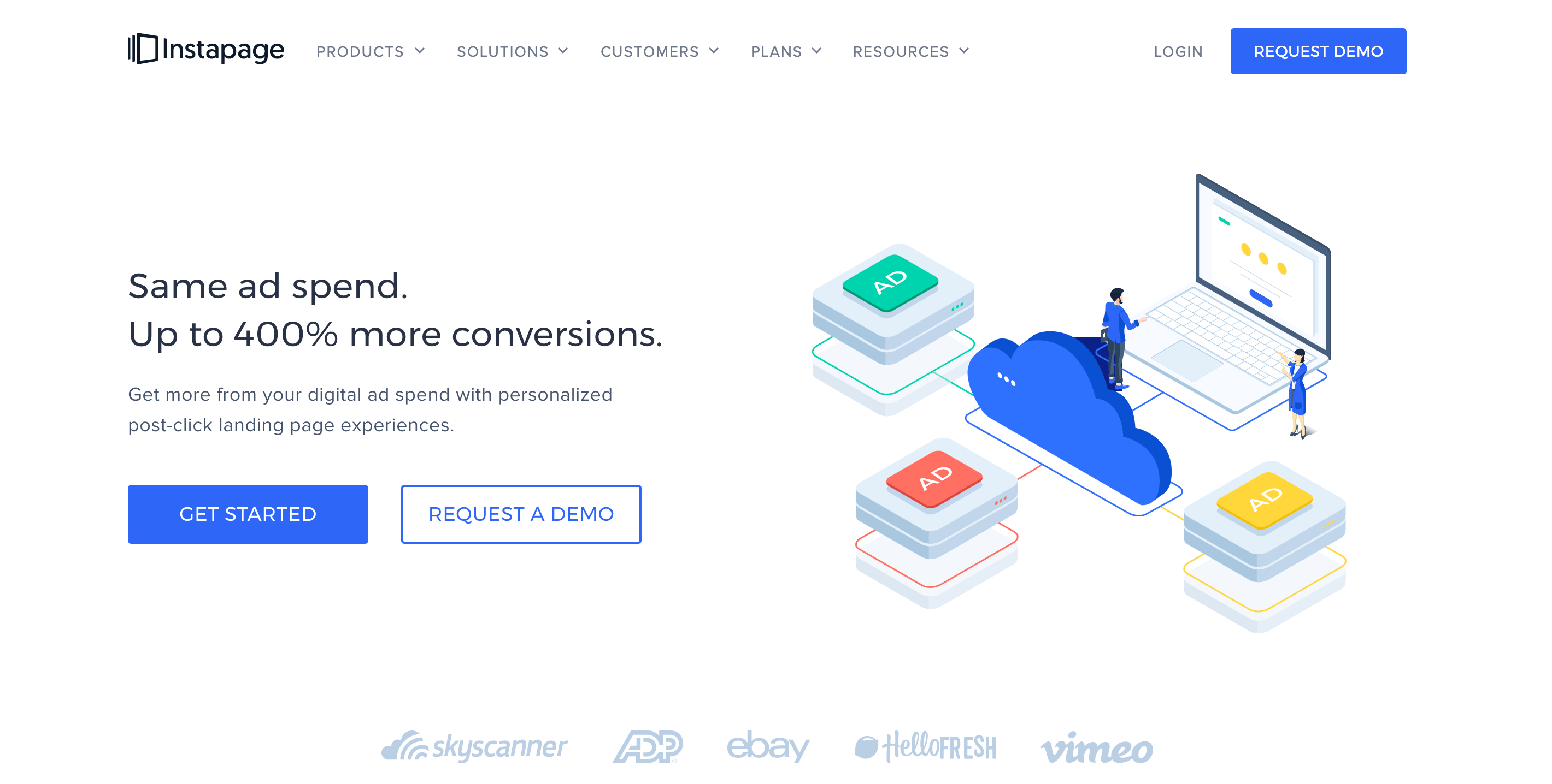 Landing page software - Instapage