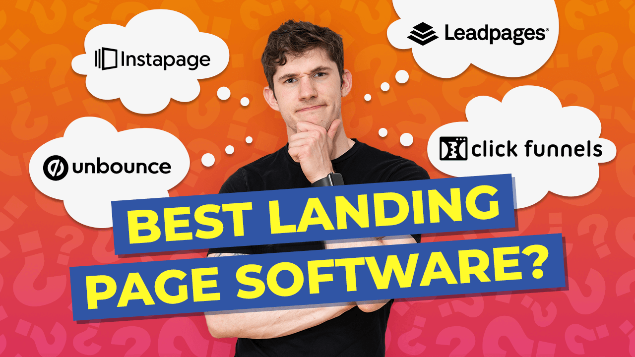 best landing page software - guide